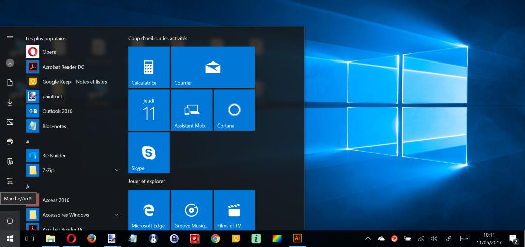 Apprivoiser Windows 10