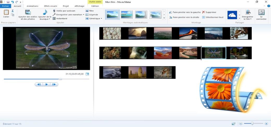 Créer des vidéos à partir de vos photos